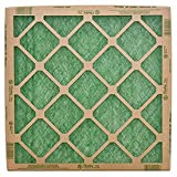 Flanders 10059.011420 Standard Grade Nested GLS Furnace Filter 24/Pack, 20'' x 14'' x 1'' - Lot of 24