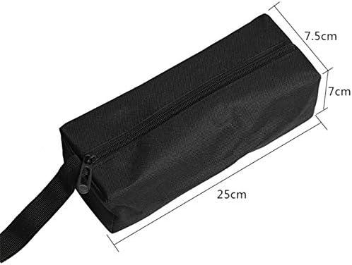 multifunktional Schwarz Namgiy Werkzeugtasche wasserfest 25 x 8,5 x 7 cm 25 * 8.5 * 7cm tragbar Zubeh/ör