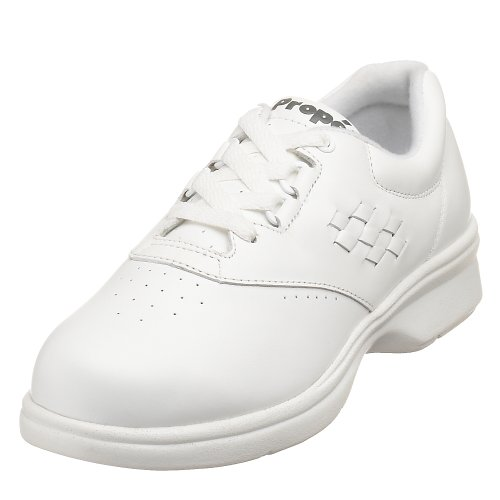 Propet Women's W3910 Vista Walker Comfort Shoe White