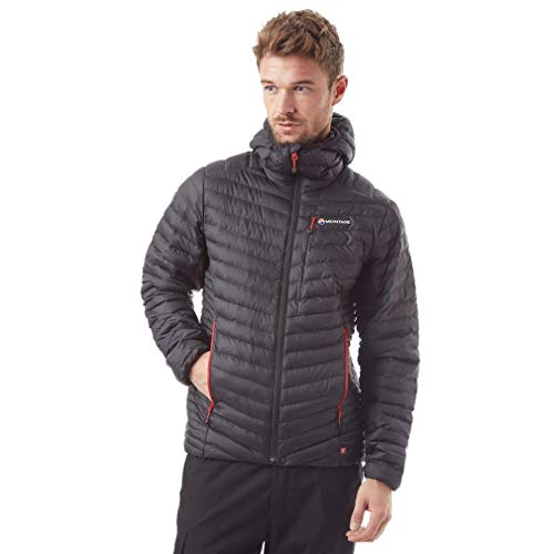 Montane Icarus Insulated Menâ€s Jacket, Black, L