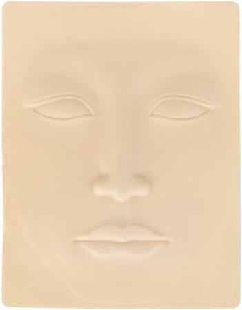 Piel Sintetica Tatuaje Vococal 3D silicona permanente maquillaje ceja tatuaje entrenamiento pr/áctica falsa piel en blanco ojo para Microblading m/áquina de tatuaje principiante