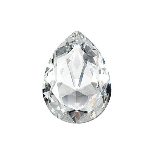 Swarovski Crystal, #4320 Pear Fancy Stone 18x13mm, 1 Piece, Crystal F