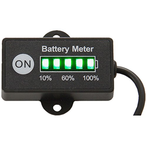 Marine Battery Meter : Marine battery voltage indicator vstm gauge ip