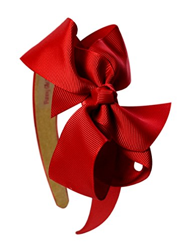 (Satin Arch Boutique Bow Headband for Toddlers and Girls From Funny Girl Designs)