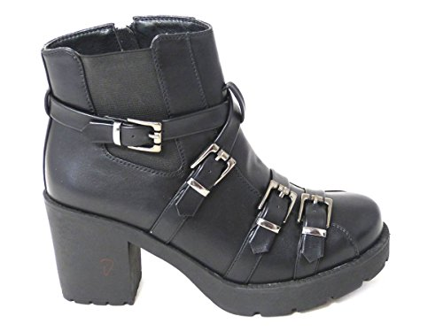 Out Sole 4 Sides Cleated Womens 3 Ankle Matt Peep Chelsea Buckle Ladies 6 8 Cut Black Size Shoes Boots Various 5 Toe Clasps Gold Designs 7 wxpxHEvq