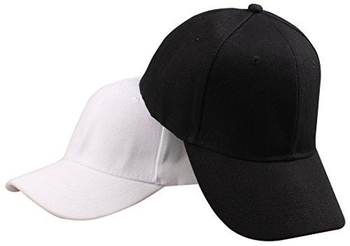Baseball Cap Set (PZLE 2Pcs adjustable baseball cap women hats for men baseball hats Set)