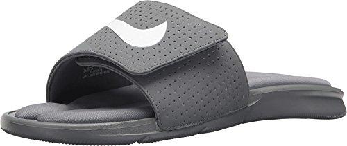Nike Men's Ultra Comfort Slide-Cool Grey/White-10