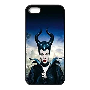 Angelina Jolie iPhone 5 5s Cell Phone Case Black W6N7NE
