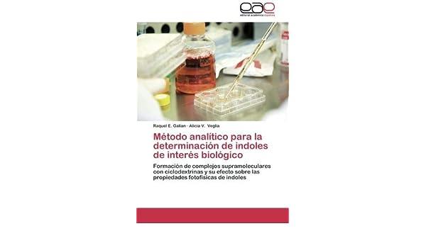 Método analítico para la determinación de indoles de interés biológico: Formación de complejos supramoleculares con ciclodextrinas y su efecto sobre . ...