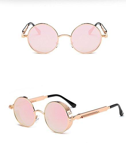 para Sol SunglassesMAN Gafas Montura de antideslumbrantes Gafas de metálica Hombre Color de 6 con Yxsd Gafas para 12 de Sol Gafas Hombre Sol Sol ZrZxHz