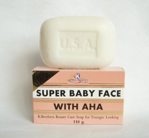 Super Baby Face AHA Whitening Soap 110g/3.9oz