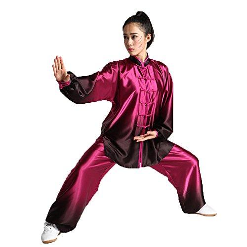 3ae7b403ca8c ZooBoo Women s Gradient Tai Chi Kung Fu Sets Martial Arts Uniforms ...