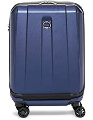 Delsey Luggage Helium Shadow 3.0 19 International Expandable Carry on Spinner, Blue