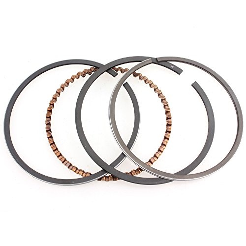 Wingsmoto GY6 80cc Piston Rings Kit 47mm Big Bore Rings Set Moped Scooter ()