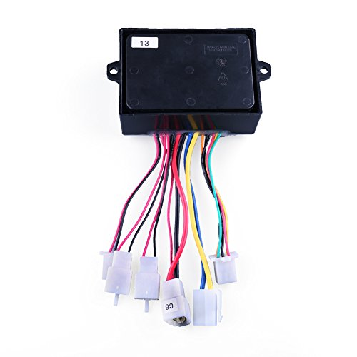 LotFancy 36V Controller for Razor MX500(V21+), MX650(V14+), Razor EcoSmart Metro Electric Scooter(All Vertions), RSF650(All Version) Dirt Rocket, Part Number: W15165070015, Model: HB3650-TYD6-FS-ROHS by LotFancy (Image #2)