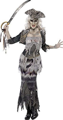 Ghost Ship Pirate Costume Ladies (Smiffys Women's Plus-Size Ghost Ship Pirate Costume)