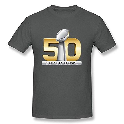 Llangla Mens 2016 Super Bowl 50 Logo T Shirt Xl