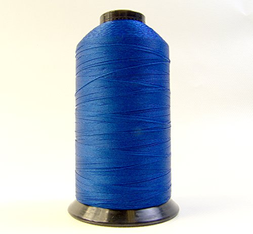 (Thread, Polyester, A&E American & Efird Bonded Polyester Thread-8 oz. Spools, Pacific Blue - Size BT 92 T-90)