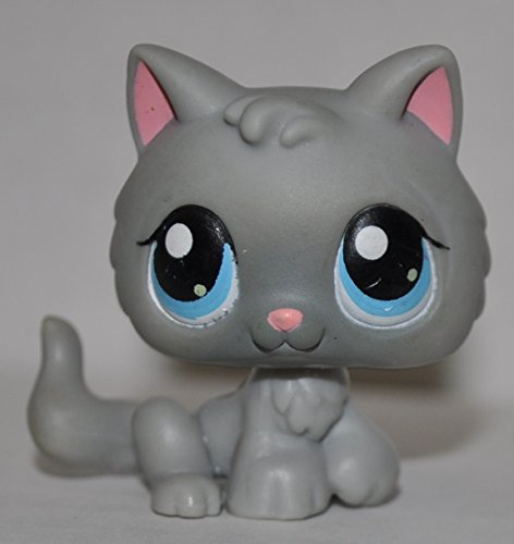 Kitten #66 (Blue Eyes) - Littlest Pet Shop (Retired) Collector Toy - LPS Collectible Replacement Single Figure - Loose (OOP Out of Package & - Kittens Pet Shop Littlest