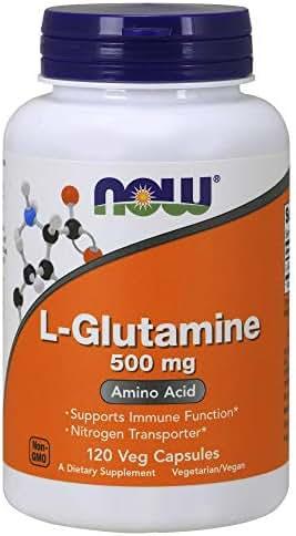 NOW Supplements, L-Glutamine 500 mg, Amino Acid, 120 Capsules