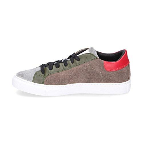 Womsh Sneakers Uomo S270251 Camoscio Marrone