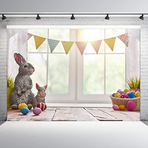 Easter Photo Backdrop 5x5 Pets Dog Photography Background Vinyl Cloth Home DIY Photo Booth FD-9867