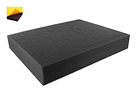 FS040RS-Bundle 40 mm 1,6 Inch customizable Pick Pluck Foam for all kind of using self-adhesive with separate bottom