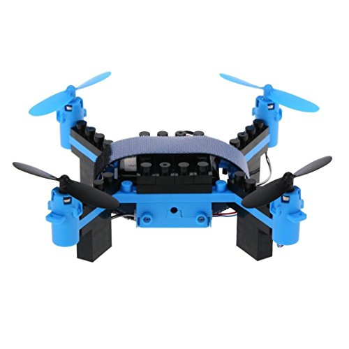 Leegor Flytec T11 Innovative DIY Building Blocks Drone Helicopter 4-channel 6 gyroscope Quadcopter 2.4G Remote Control by Leegor