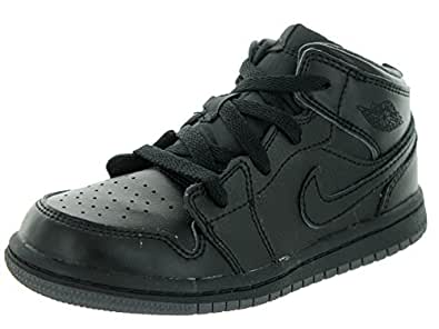 b87e28838f4160 Image Unavailable. Image not available for. Color  Jordan Nike Kids 1 Mid BP  ...
