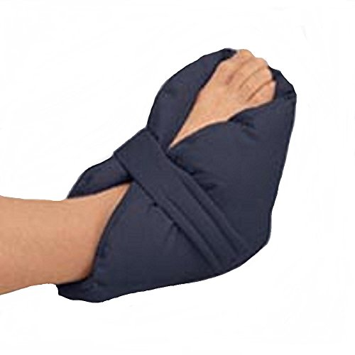 Posey 6116 Quilted Heel Pillows, Navy Blue, Cotton (Posey Heel Pillow)