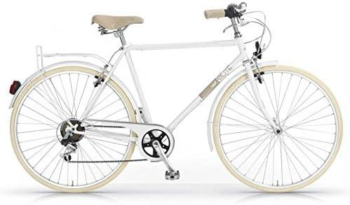 MBM Elite 6 velocidades Bicicleta de paseo dise/ño vintage cl/ásico rueda de 28 hombre