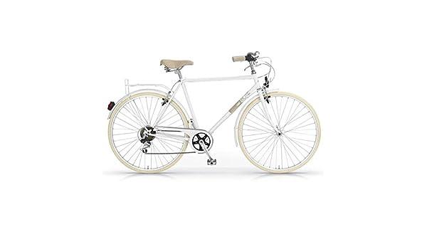MBM Elite - Bicicleta de paseo, hombre, diseño vintage clásico, rueda de 28