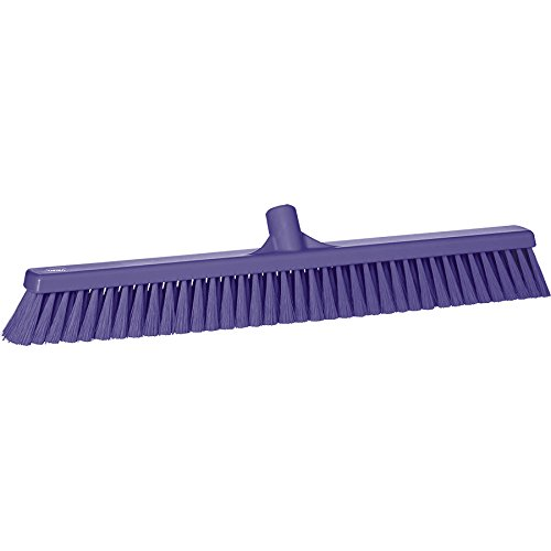 Vikan 31998 Fine Sweep Floor Broom Head, Polypropylene Block, 23-1/2