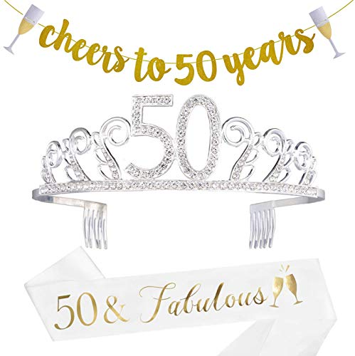 50th Birthday Decorations Party Supplies - 50th Birthday