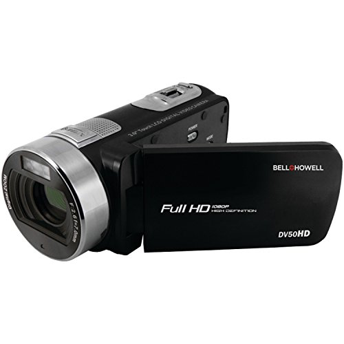 Bell+Howell 1080p Full HD Video Camcorder with 20.0 MP Still Image Resolution & 3