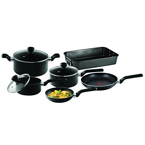 Tefal B106S644 Admire Non-Stick 6 Pieces Essential Cooking Set by Tefal