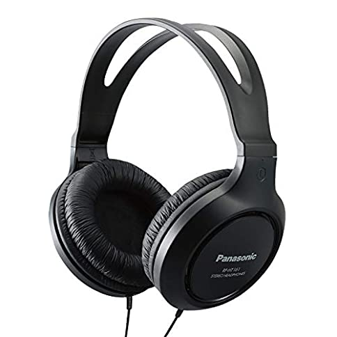 Panasonic Lightweight Headphones with XBS Port - 41YDIPKo8 L - Panasonic Lightweight Headphones with XBS Port