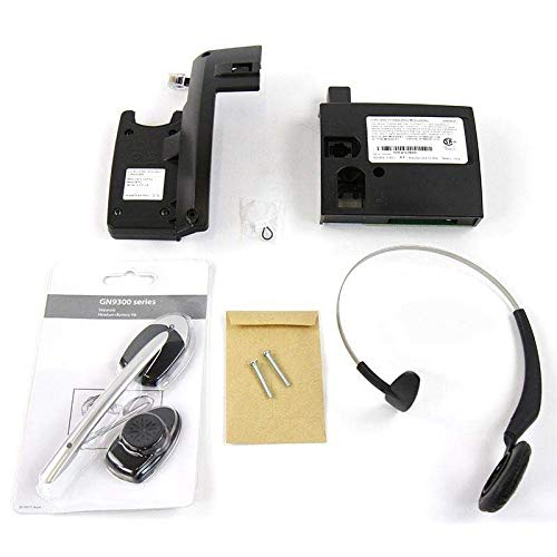 Mitel Cordless Headset and DECT Module Bundle, #50005712 | Mitel 5330e, 5340e and 5360e phones | Includes all accessories by Mitel