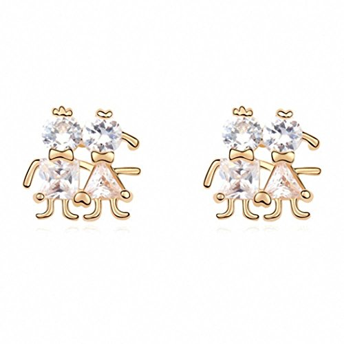 Earrings Crystal Elements Discount Collection