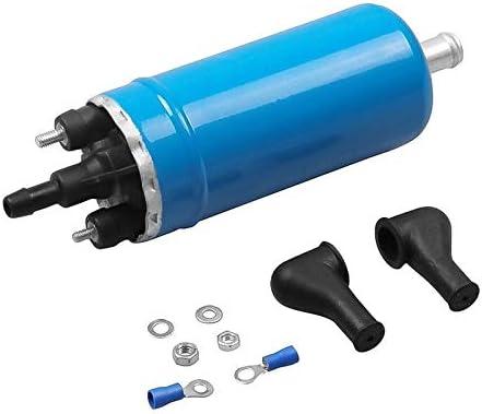 for Mercedes-Benz//Renault//Peugeot H High Flow In-Line pompe dinjection de carburant externe /électrique Pompe /à essence D/ébit 0580464038 Pompe /à carburant /électrique 12V 140L