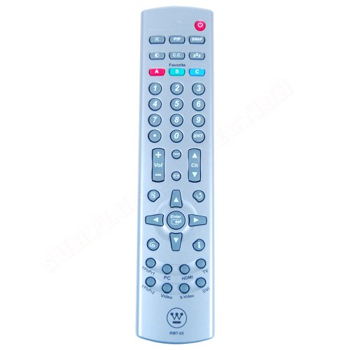 estinghouse LCD HDTV RMT-05 Remote Control (5041811900) LOt of 100 pcs ()