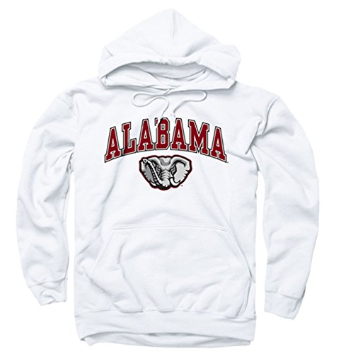 Campus Colors NCAA Adult Arch & Logo Gameday Hooded Sweatshirt - Multiple Teams, Sizes