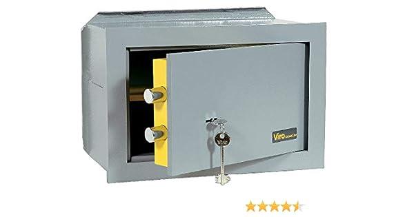 Viro 4551.20 - Caja fuerte mecánica casasica, oscuro: Amazon.es: Bricolaje y herramientas