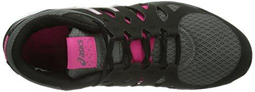 Asics Gel-Fit Tempo - Zapatos de deporte de interior para mujer Charc/Silv/H.Pi