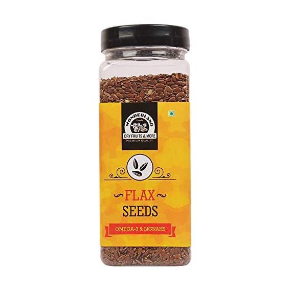 WONDERLAND FOODS (DEVICE) Roasted Flax Seed, 200 g