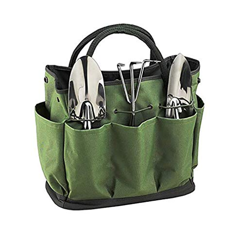 (TADAMI Gardening Tote Bag,Deluxe Garden Tool Storage Bag and Home Organizer with Pockets,Wear-Resistant & Reusable Gardening Tote Holder)