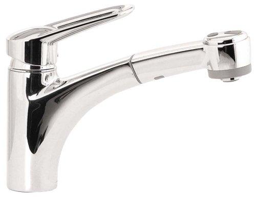 Polished Chrome #06566000 Hansgrohe Metro E 1-Hole Kitchen Faucet