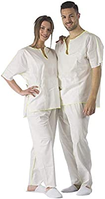 15 Pijamas Desechables En Suave Viscosa Ecológica Y Biodegradable ...