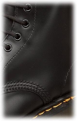 Di nbsp;unisex 8 Con Colore Lisce In Pelle nbsp;occhielli Nero Dr Martens Lacci 1460 qIT44A