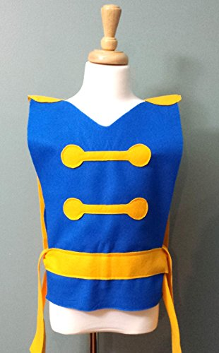 Kids Beast Costume Tunic (Belle's Prince/Beauty and the Beast/Prince Adam)- Baby/Toddler/Kids/Teen/Adult Sizes by Teatots Party Planning